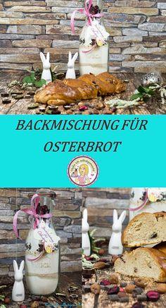 Osterbrot Backmischung, Ostern, Rezept, backen, Geschenk, Geschenkidee, Cakemix