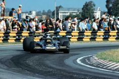 Jacky Ickx Lotus 72E Buenos Aires Argentine GP 1974