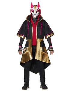Shop the Drift Coat Adult Fortnite Costume at Boutiqify. Explore items similar to Drift Coat Adult Fortnite Costume . Find where to buy the Drift Coat Adult Fortnite Costume online. Halloween Men, Halloween Costumes For Teens, Boy Costumes, Spirit Halloween, Adult Costumes, Cosplay Costumes, Halloween Party, Halloween Inspo, Hooded Vest