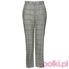 Spodnie w kratę Topshop #fashion #polkipl #bebeauty #moda #style #trendy #totallook