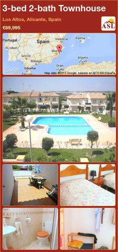Villa for Sale in Denia, Alicante, Spain with 4 bedrooms, 3 bathrooms - A Spanish Life Valencia, Oliva Nova, Portugal, Alicante Spain, Beautiful Villas, Terrace Garden, Double Bedroom, Double Doors, Townhouse