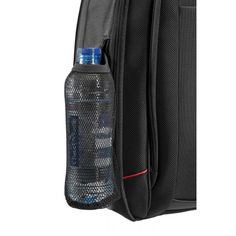 The side-netting is elasticated and fits a water bottle for those who are always on the move. Laptop Backpack, Sling Backpack, Water Bottle, Backpacks, Business, Leather, Bags, Accessories, Handbags