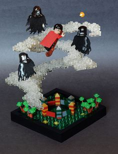 LEGO scenes from Harry Potter and the Prisoner of Azkaban