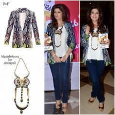 Yay or Nay : Twinkle Khanna in DvF and Manish Arora For Amrapali | PINKVILLA