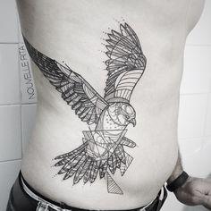 #nouvellerita #falcon #tattoo #tattrx #linework #blackworkers