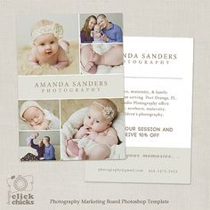 Clearance  Photography Postcard Mini Session Flyer  Marketing