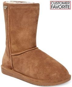 BEARPAW Emma Short Cold Weather Boots – file this under great gifts for ladies.