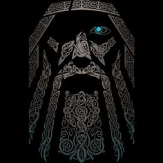 ODIN is a T Shirt designed by RAIDHO to illustrate your life and is available at Design By Humans
