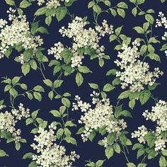 navy wallpaper - Painting Supplies, Tools & Wall Treatments: Tools & Home Improvement Floral Pattern Wallpaper, Navy Wallpaper, Interior Wallpaper, Watercolor Flowers Tutorial, Floral Drawing, Traditional Wallpaper, Wall Stickers Murals, Wall Treatments, Paper Background