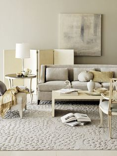 My favourite image of grey + beige {Barbara Barry}  - See more at: http://www.mariakillam.com/greyisout/#sthash.BirX4DbT.dpuf