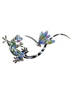 lizard and dragonfly tattoo designs - Google Search