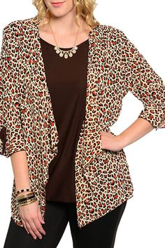 DHStyles Women's Orange Brown Plus Size Trendy Sheer Animal Print Layered Top #sexytops #clubclothes #sexydresses #fashionablesexydress #sexyshirts #sexyclothes #cocktaildresses #clubwear #cheapsexydresses #clubdresses #cheaptops #partytops #partydress #haltertops #cocktaildresses #partydresses #minidress #nightclubclothes #hotfashion #juniorsclothing #cocktaildress #glamclothing #sexytop #womensclothes #clubbingclothes #juniorsclothes #juniorclothes #trendyclothing #minidresses…