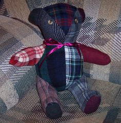 I just listed Wool Stuffed Bear Red on The CraftStar @TheCraftStar #uniquegifts