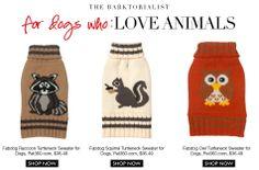 As Seen In TheBarktorialist - #Fabdog Pet Sweaters via Pet360.com