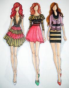 Fashion Design Sketches   Fashion design sketches   108 : Image ...