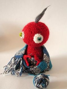 Free Knitting Pattern - Amigurumi: Thrifty Critter