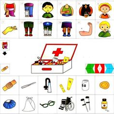 Things That Go Together, Social Stories Autism, Kindergarten, Mini, Craft Activities For Kids, Baby Play, Ambulance, Pre School, Kids Learning