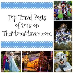 Let's take a look back at the top travel posts of 2016 on TheMomMaven. This year they are all about special events at Walt Disney World. http://themommaven.com/2017/01/5-top-travel-posts-2016/