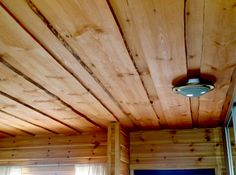 Mural Wall Art, Sheds, Carpentry, Ceiling Fan, Architecture, Home Decor, Wood, Shed Houses, Arquitetura