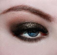 Night Clubbing by makeupbyhilary featuring Makeup Geek's Utopia Glitter Pigment