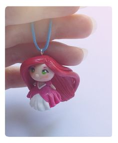 Princess Ariel the little mermaid charm necklace by FairysLiveHere