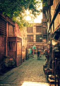 Old Cairo, Egypt. Stephen and I want to go there !