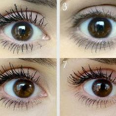 Mascara reviews :: 100 mascaras tested on one eye :: See review pictures