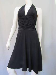 White House Black Market Dress Size S Halter Cocktail Ruched New #WhiteHouseBlackMarket #Cocktail