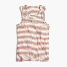 a9c7ace596c4af Shop the Striped Tank Top In Supima® Cotton at J.Cew and see the