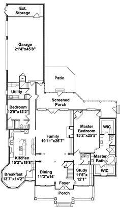 Prentiss manor house plan