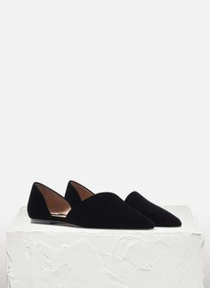 Suede upper and heel ballet flats - See all - FOOTWEAR - Uterqüe United Kingdom