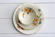 REDUCED 10 OFF Vintage 1950s Tea Cup and by CirceCollectables, $23.40 #fenomem