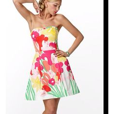 Lillie Pulitzr GREAT for summer outings all over Texas.  Love Lilly in Texas.  Her colors are fun and designs are feminine.