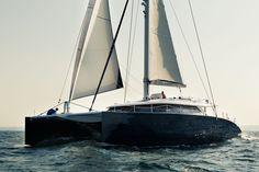 Sea trial on the Baltic sea