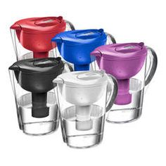Brita Slim Water Pitcher with 1 Filter, White, 5 Cup - Walmart.com