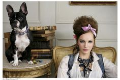 #Glamour Magazine  #PHOTO  #SPAIN  #SaraZorraquino  #BelénZavala  #luxury #beauty #Dog  #Sophisticated