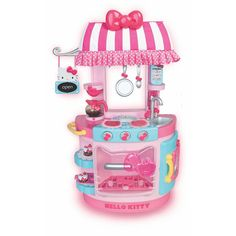 Hello Kitty Kitchen Cafe // This is THE CUTEST, I would be so tempted to get this for myself if I had somewhere to put it.