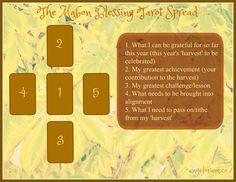 Mabon Blessing Tarot Spread                                                                                                                                                                                 More