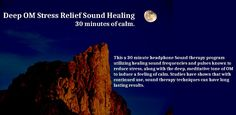 Deep OM sound healing stress relief Android app.
