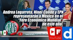 Andrea Legarreta, Ninel Conde y EPN representarán a México