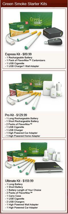 Green Smoke Ecig Review | E Cig Starter Kit Reviews for Green Smoke | Ecig Reviews