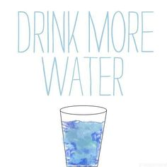 #2013 reminder / Drink more water as I usually just forget >.