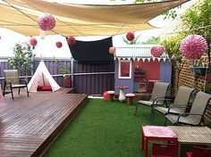 Best Kids Parties: Fairy Garden Tea Party Looking at this, I'm wondering how much it would be to