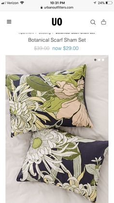 Throw Pillows, Bed, Illustration, Flowers, Toss Pillows, Cushions, Stream Bed, Decorative Pillows, Illustrations