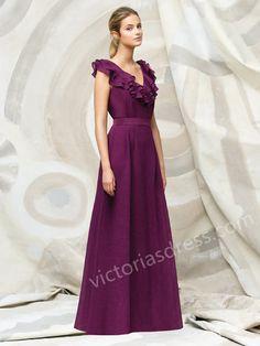 Evening Dress  Ruffles Bridesmaid Dresses