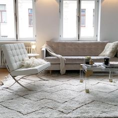 Barcelona Chair Manhattan Modern interiors and Midcentury modern