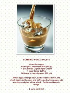 Slimming World Baileys