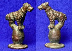 Ancient Roman Molossian hound, used by the Romans to bring down bulls and wild beasts, and to kill prisoners in the arena;  EdgarLOwen.com ANCIENT ROMAN ART