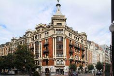 Edificio de viviendas en Gran Vía 42 (Líbano, 1927), Bilbao