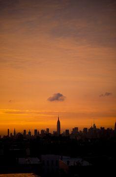 Sunset View From Bushwick, Brooklyn  Johnny Panessa